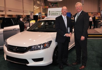 CGCA_Winner Honda Accord Hybrid- David Miller and Dave Gardner Honda Canada Inc.