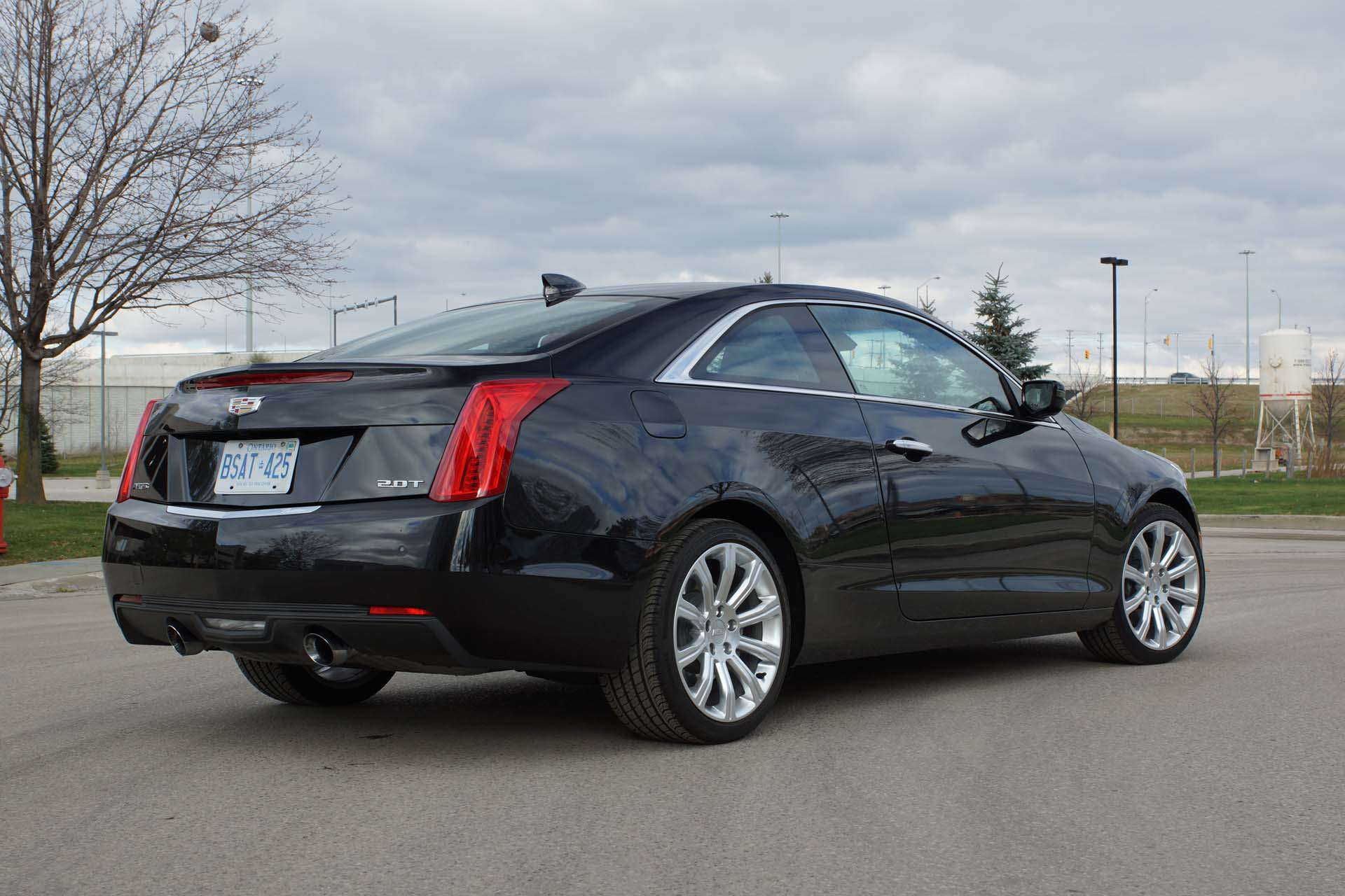 2015 cadillac ats 2 0l turbo luxury coupe. Black Bedroom Furniture Sets. Home Design Ideas