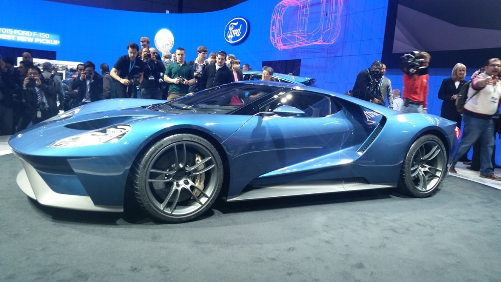 The New Ford Gt Will Be Built In Markham Ontario